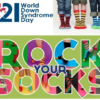 2019 Rock Your Socks Day supporting World Down Syndrome
